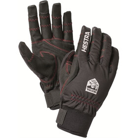 Hestra Ergo Grip Long Finger Gloves black/black
